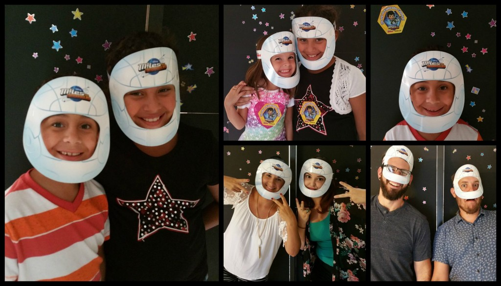 Disney Junior Miles from Tomorrowland Party Photo Booth