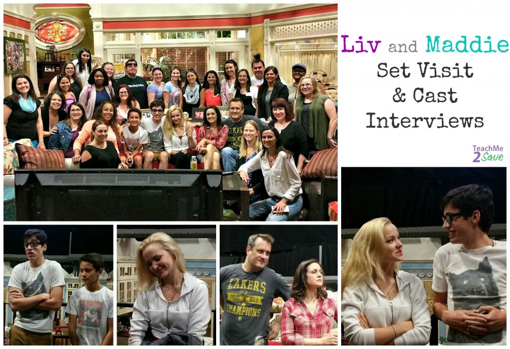 Liv and Maddie Set Visit and Cast Interviews - Funtastic Life