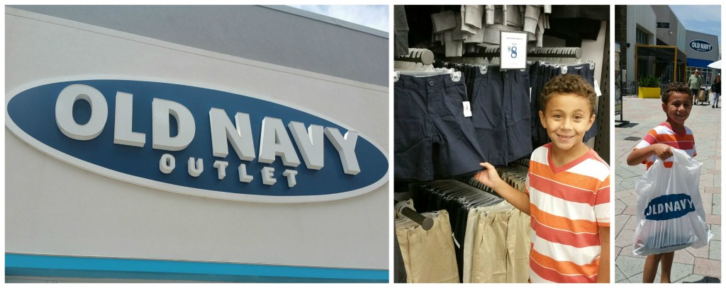 Old Navy Outlet Shopping at Sawgrass Mills Mall