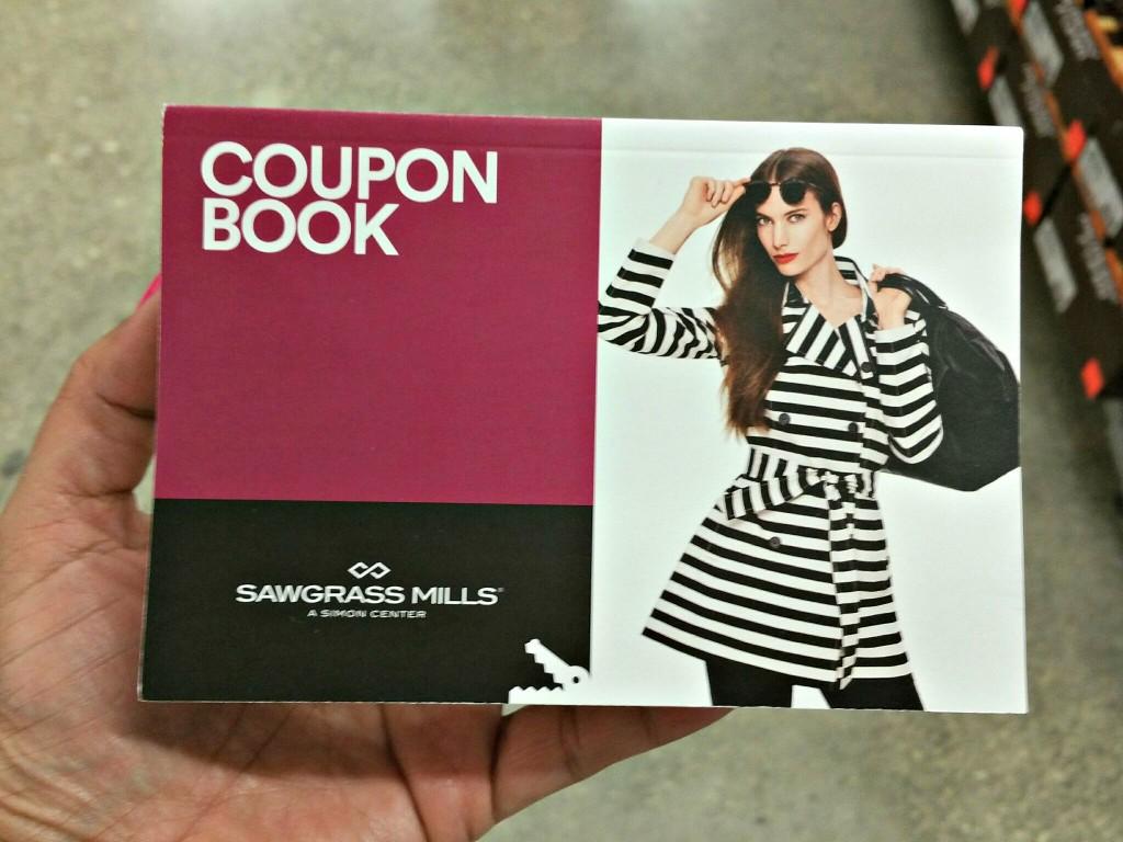 Sawgrass Mills Mall Coupon Book