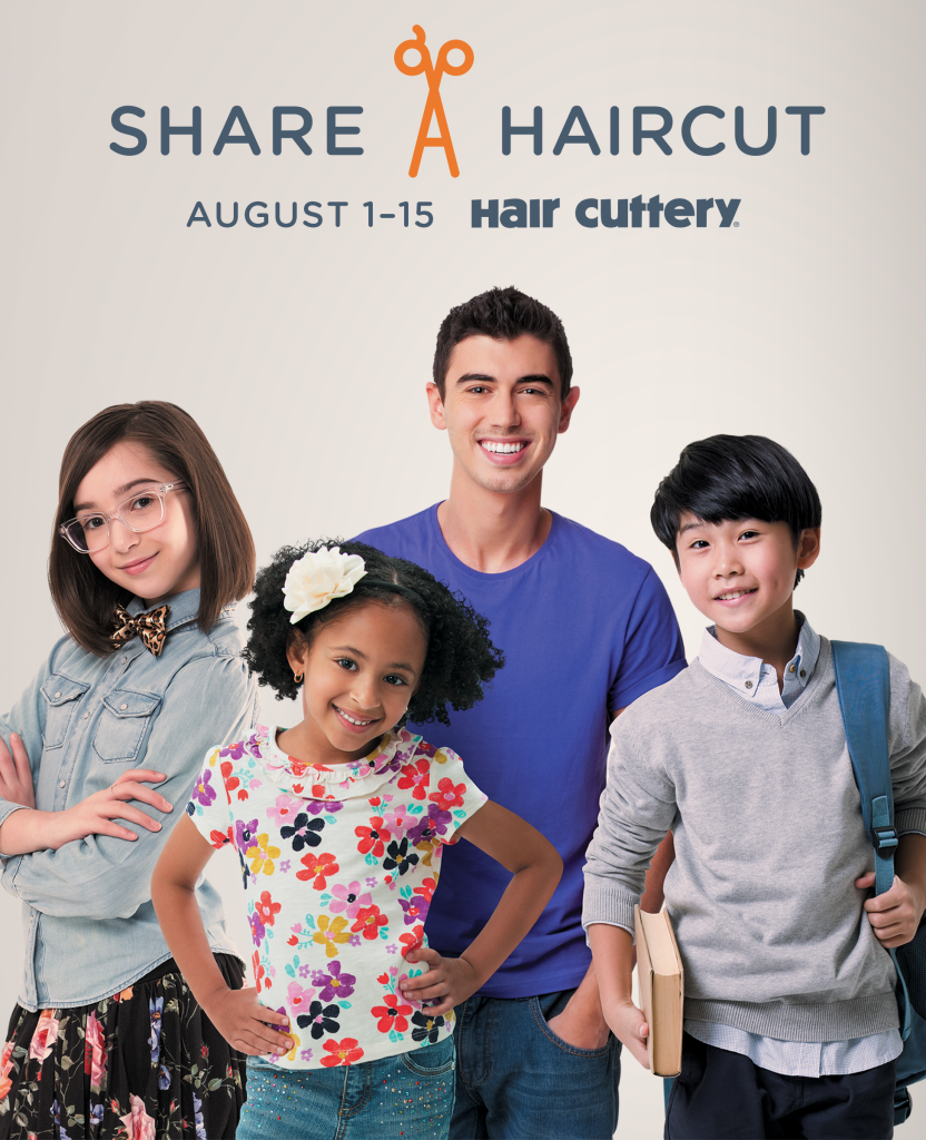 Share –A –Haircut Hair Cuttery 2015