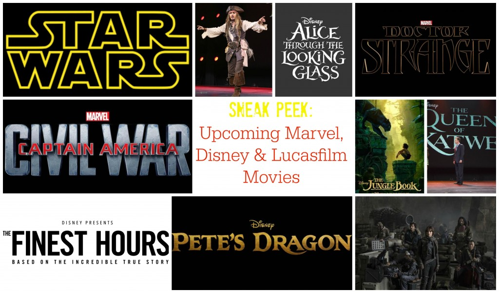 Sneak Peek Into Marvel, Disney & Lucasfilm Upcoming Movies