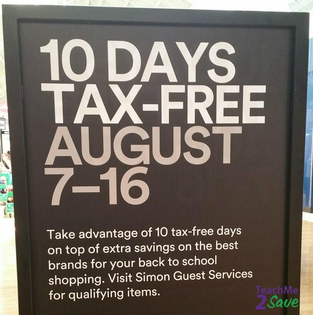 Tax Free Shopping 2015