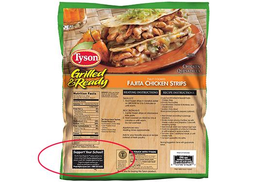 Tyson A+ Label