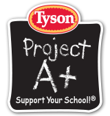 Tyson Project A+™ Logo