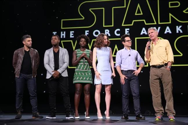 star wars the force awakens cast