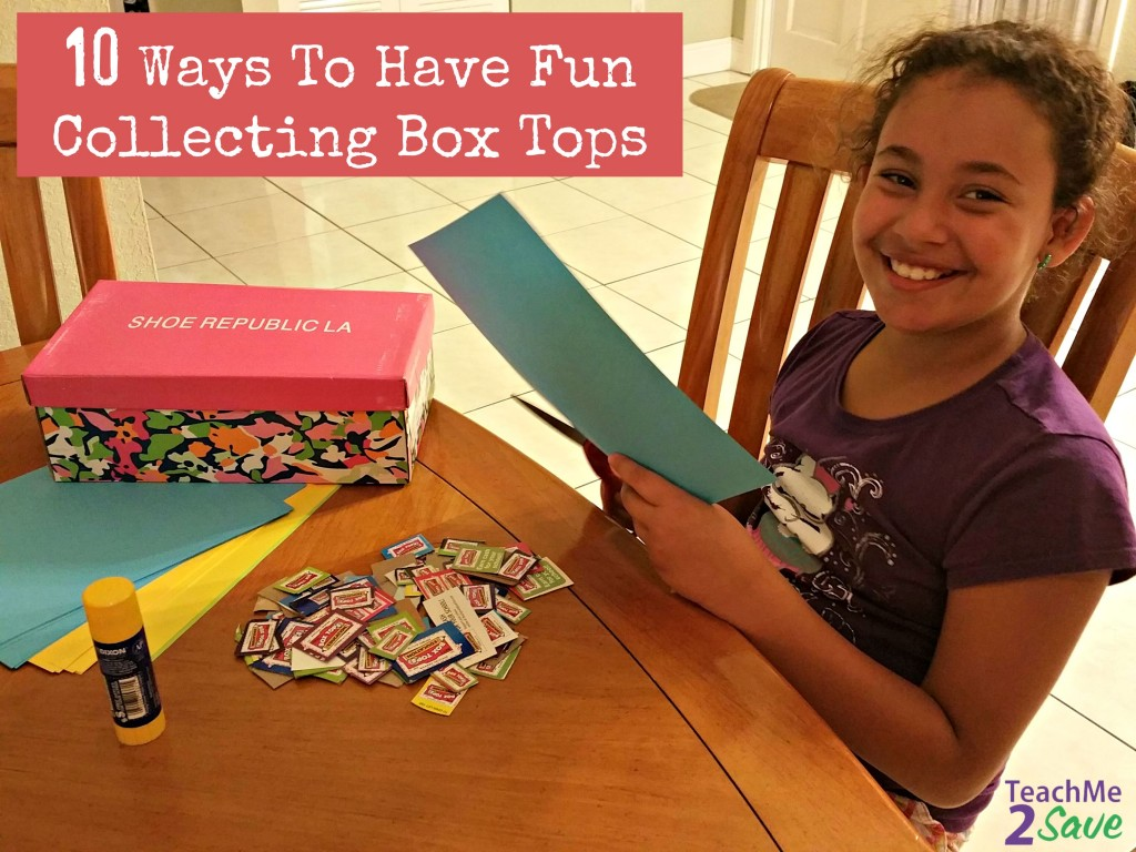10 Ways To Have Fun Collecting Box Tops