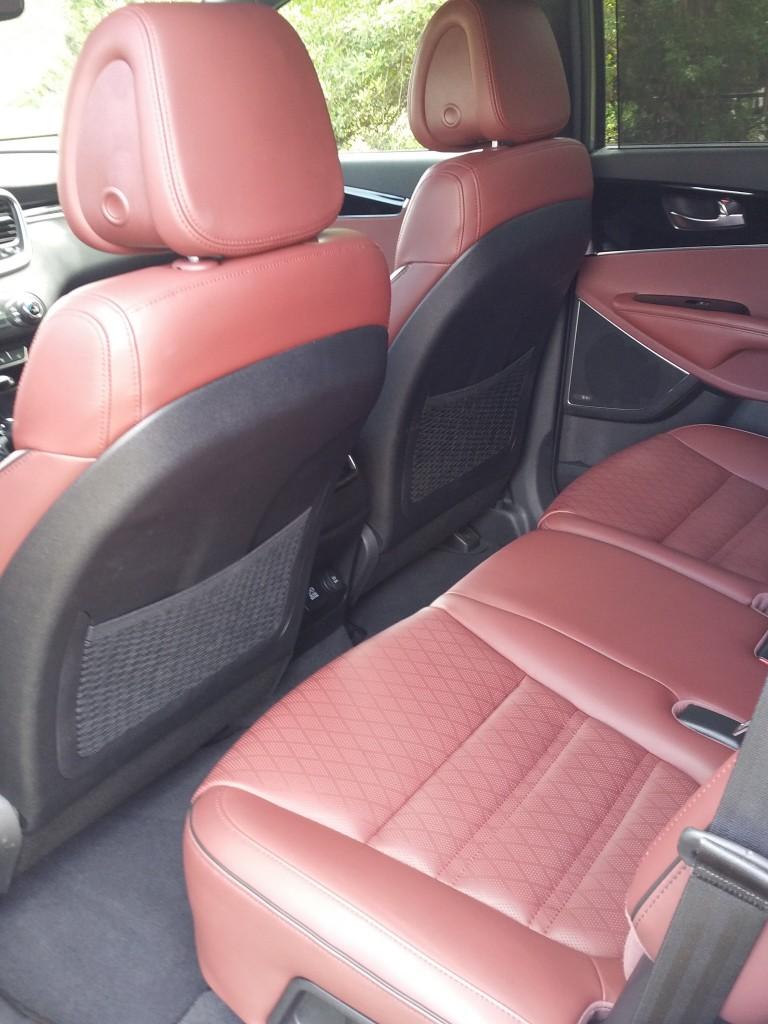 2016 Kia Sorento Red Leather Seats