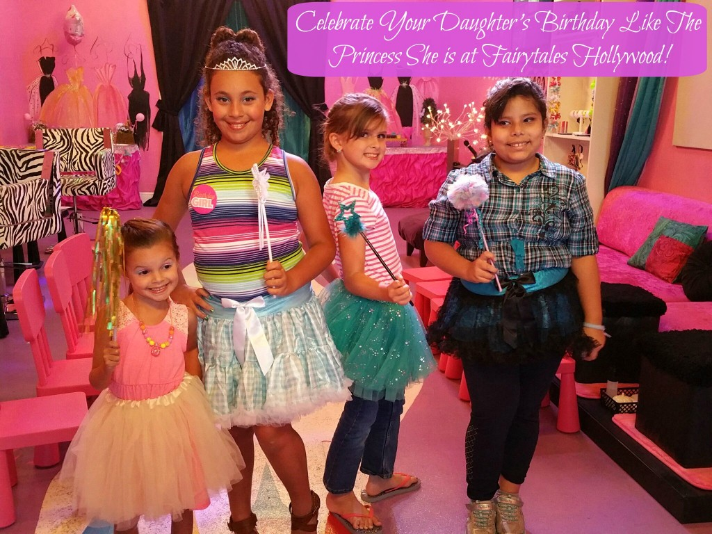 Celebrate Your Daughter's Birthday Like The Princess She is at Fairytales Hollywood