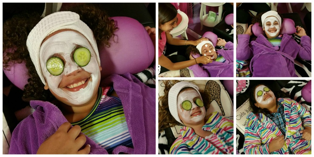 Fairytales Hollywood Refreshing Cucumber Facials Collage