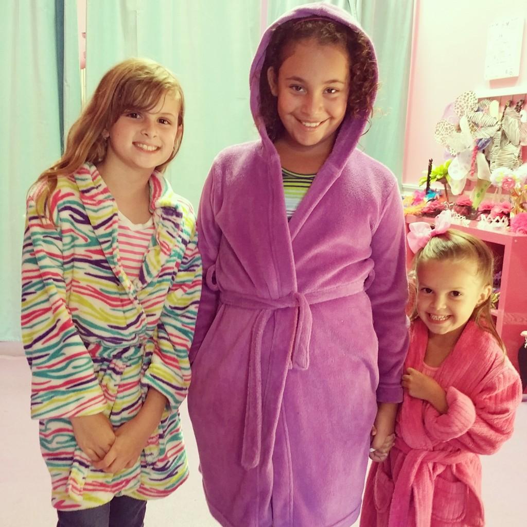 Fairytales Hollywood Spa robes