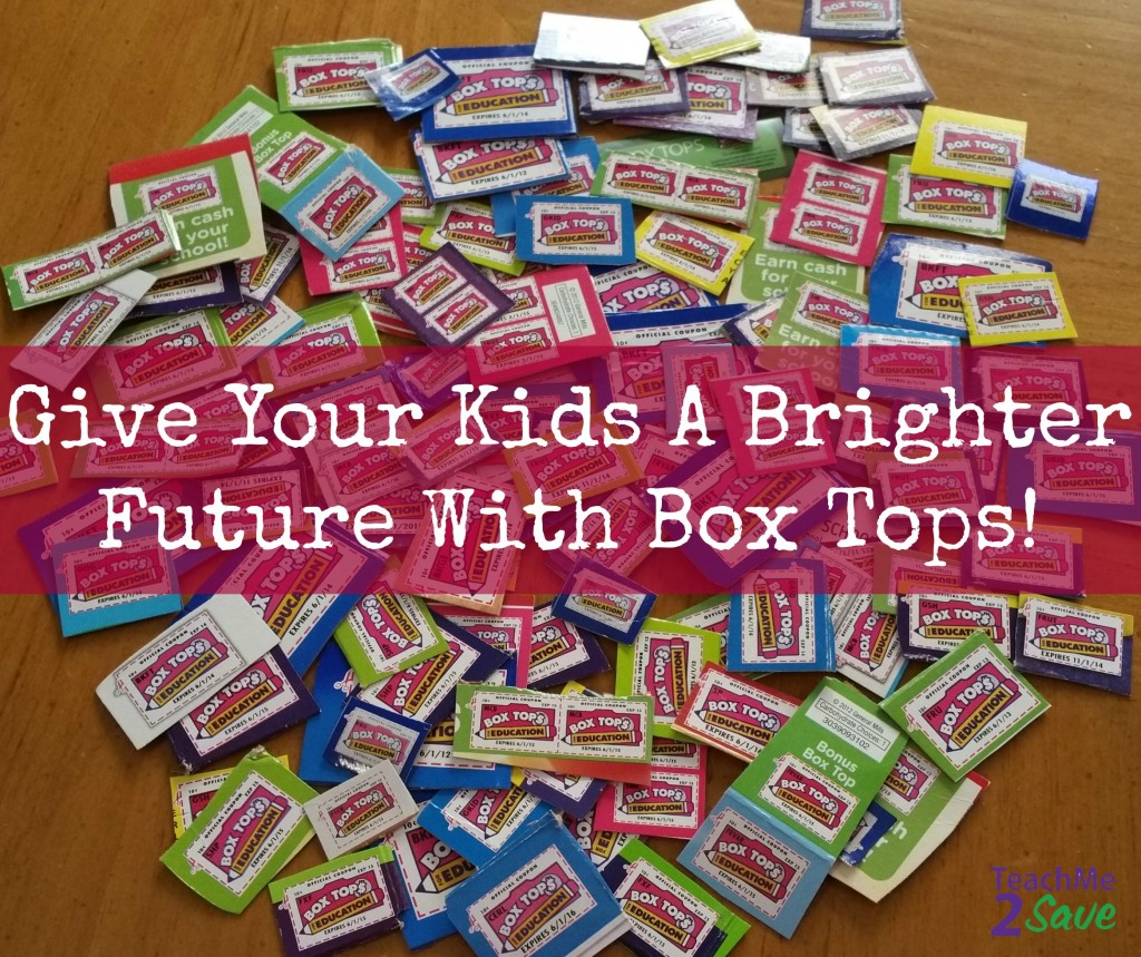 Give Your Kids A Bright Future With Box Tops - TM2S