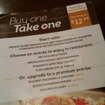 Olive Garden's Buy One, Take One Offer Returns for Back-to-School Season