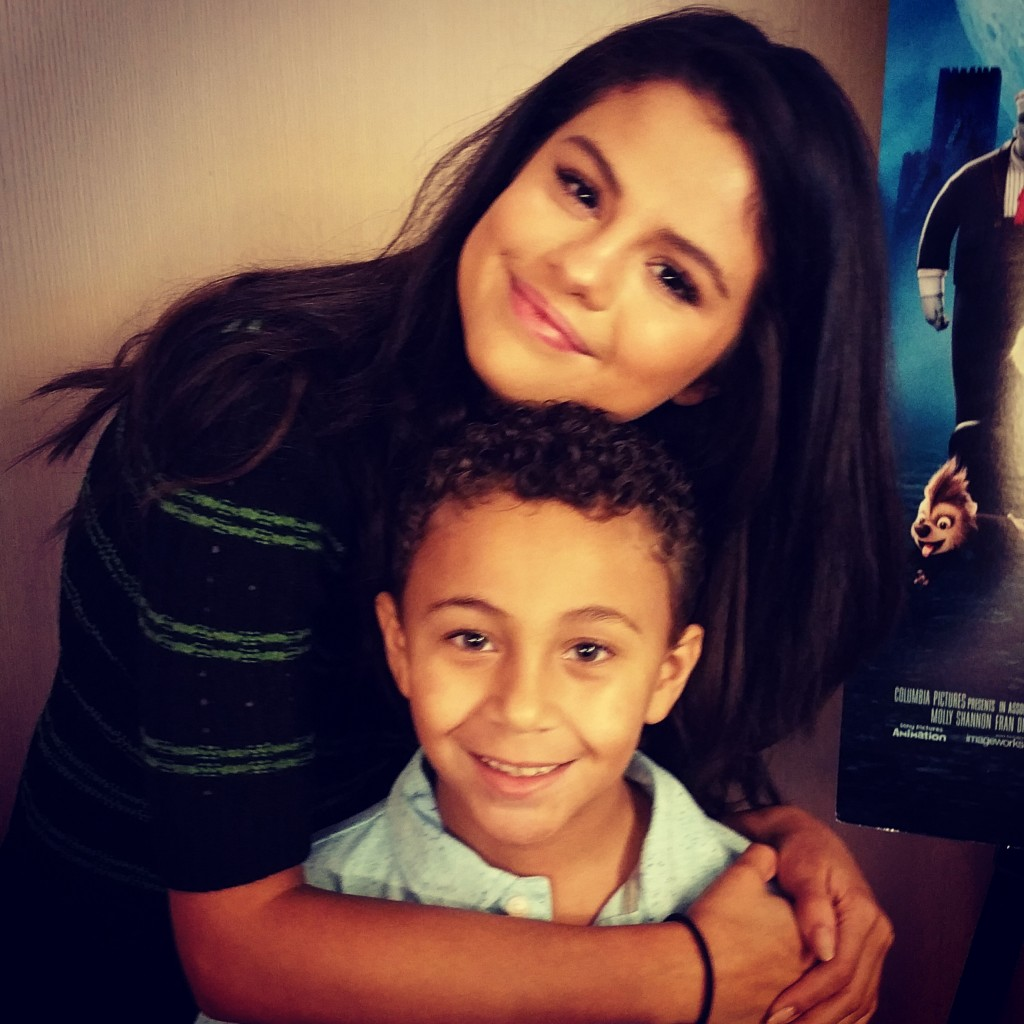 My daughter meeting selena gomez was a dream come true funtastic life selena gomez my little man m4hsunfo