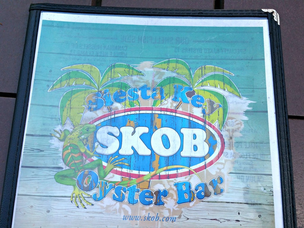 Siesta Key Oyster Bar Menu