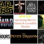Sneak Peek Into Marvel, Disney & Lucasfilm Upcoming Movies