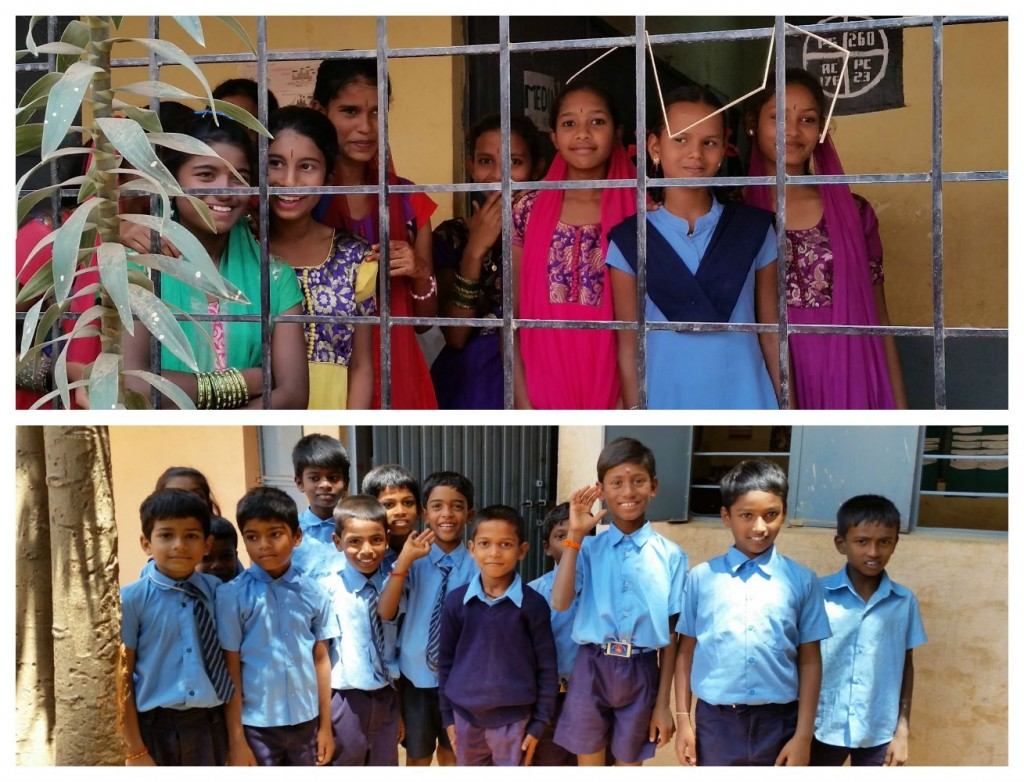 Thimmaiah Reddy Government High School Students