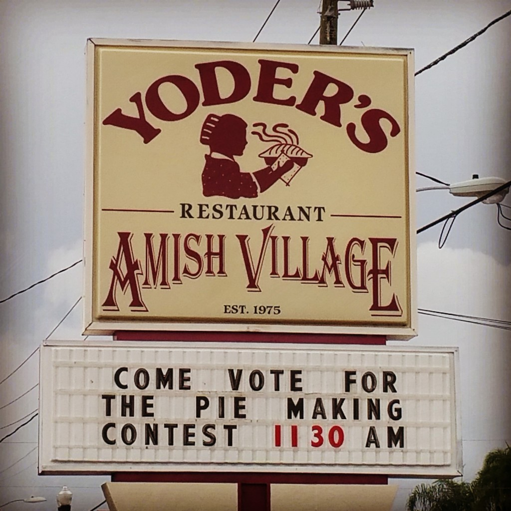 Yoder's Restaurant Pie Making Contest