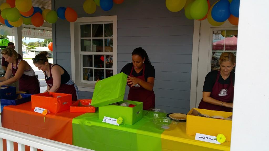 Yoder's Restaurant Pie Making Contest Ingredients