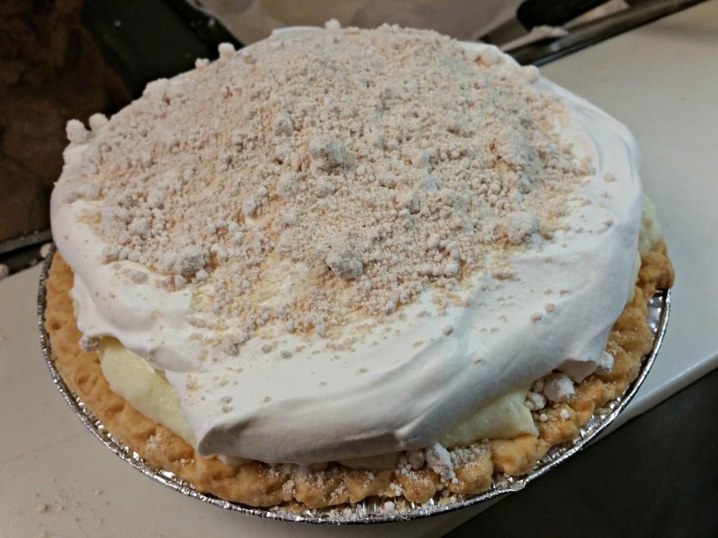 Yoder's Restaurant Pie Making Contest Practice Pie