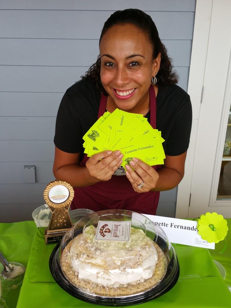 Yoder's Restaurant Pie Making Contest Winner