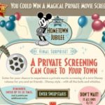 Hometown Jubilee Sweepstakes: Private Screening of a Disney Movie