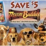 Treasure Buddies: $5 off Treasure Buddies BD/DVD Combo Pack Coupon, Crafts & Activities, Recipes & Giveaway