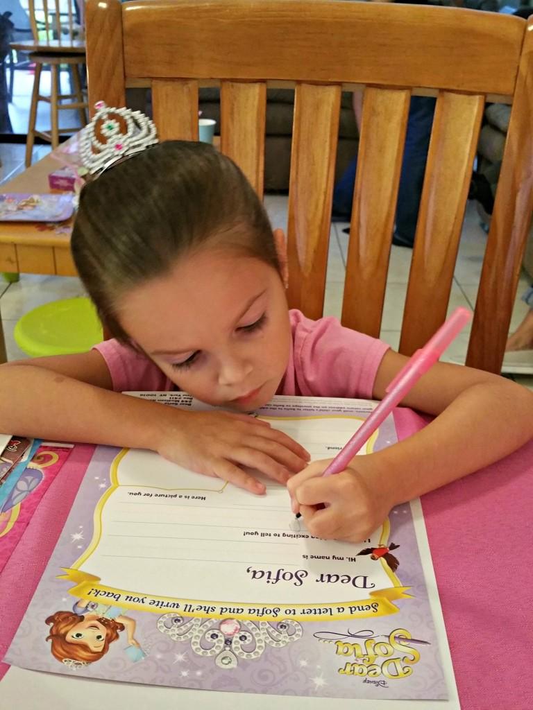 Dear Sofia Letter Writing - Pen
