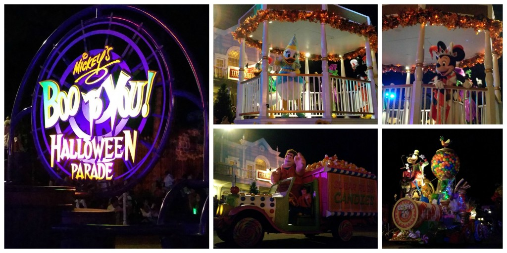 Mickey's Boo To You Halloween Parade 2015 Collage