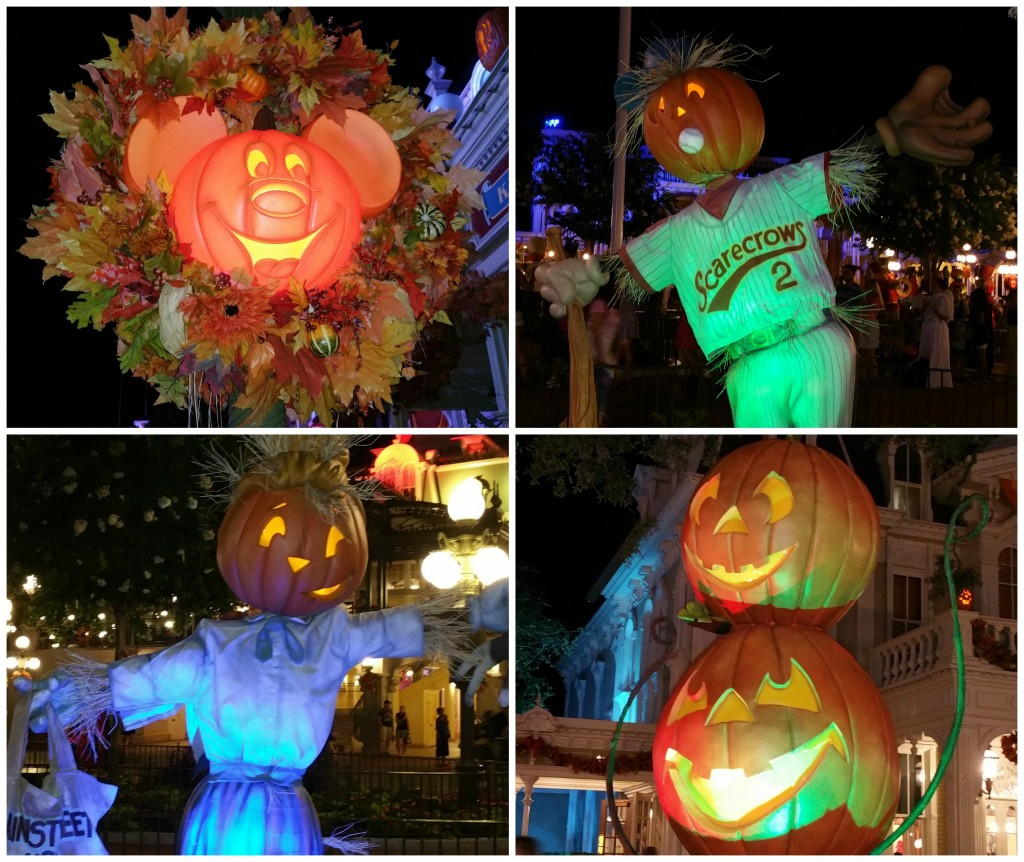Mickey's Not So Scary Halloween Party 2015 Decorations 2