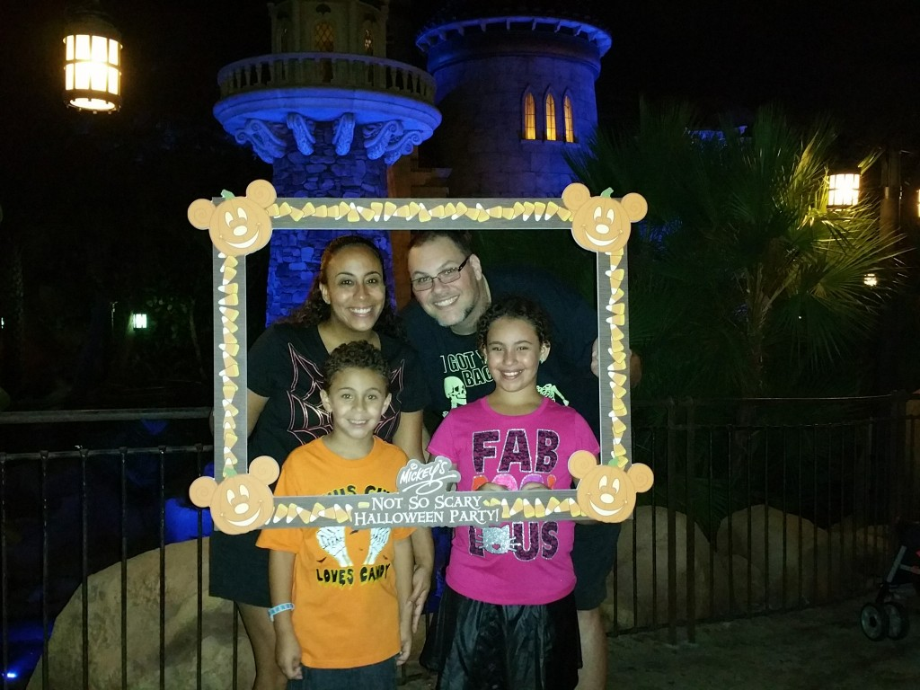 Mickey's Not So Scary Halloween Party 2015 Family Pic