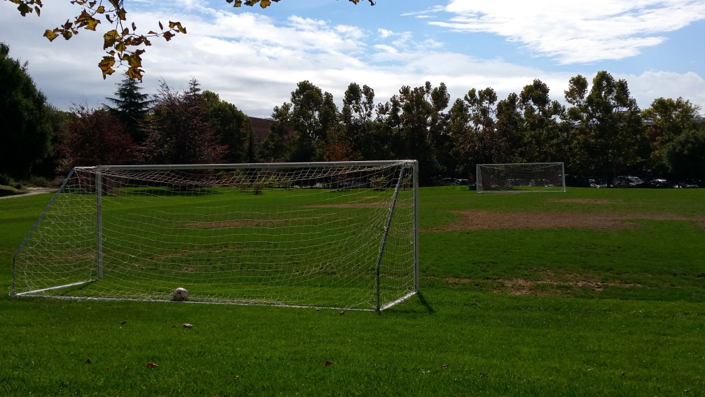 Pixar Animation Studios Soccer Field