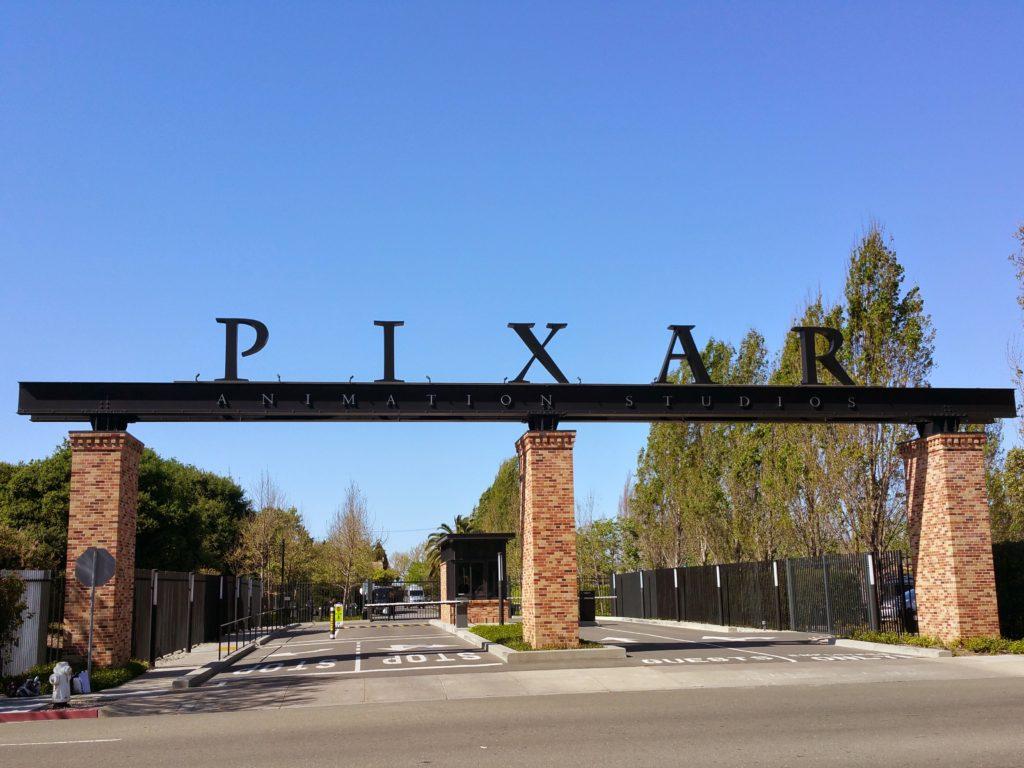Pixar Studios Gate