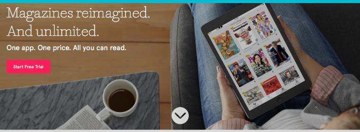 Texture App - Magazines Reimagined