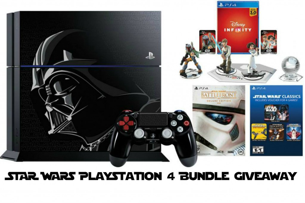 The Limited Edition Star Wars PS4 Giveaway