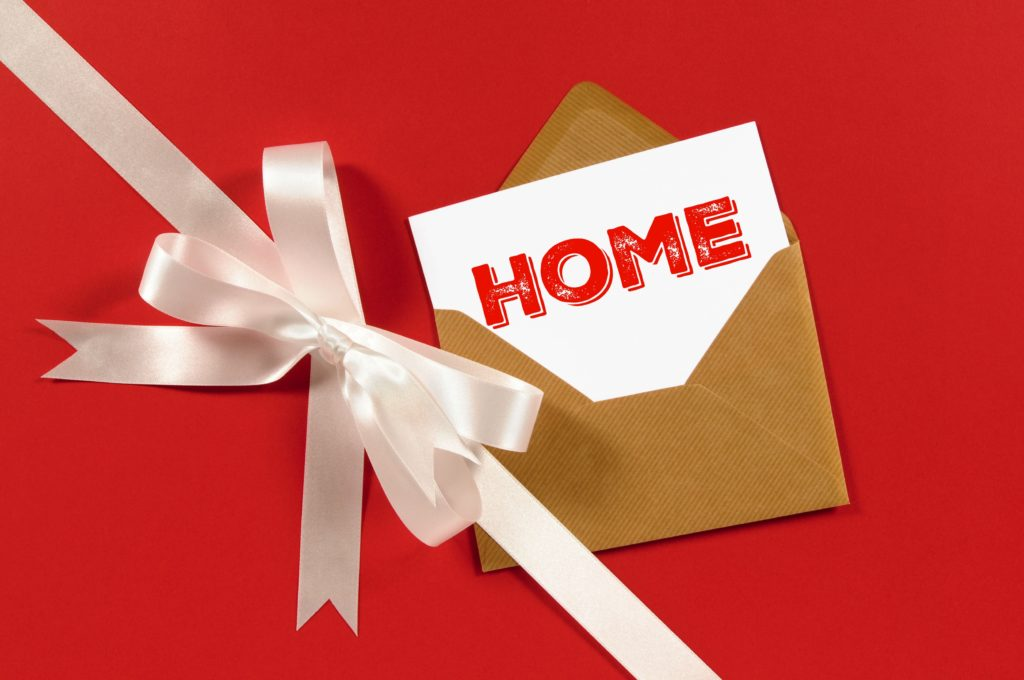 home gift tag