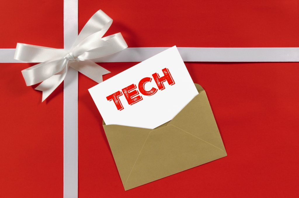 technology gift tag