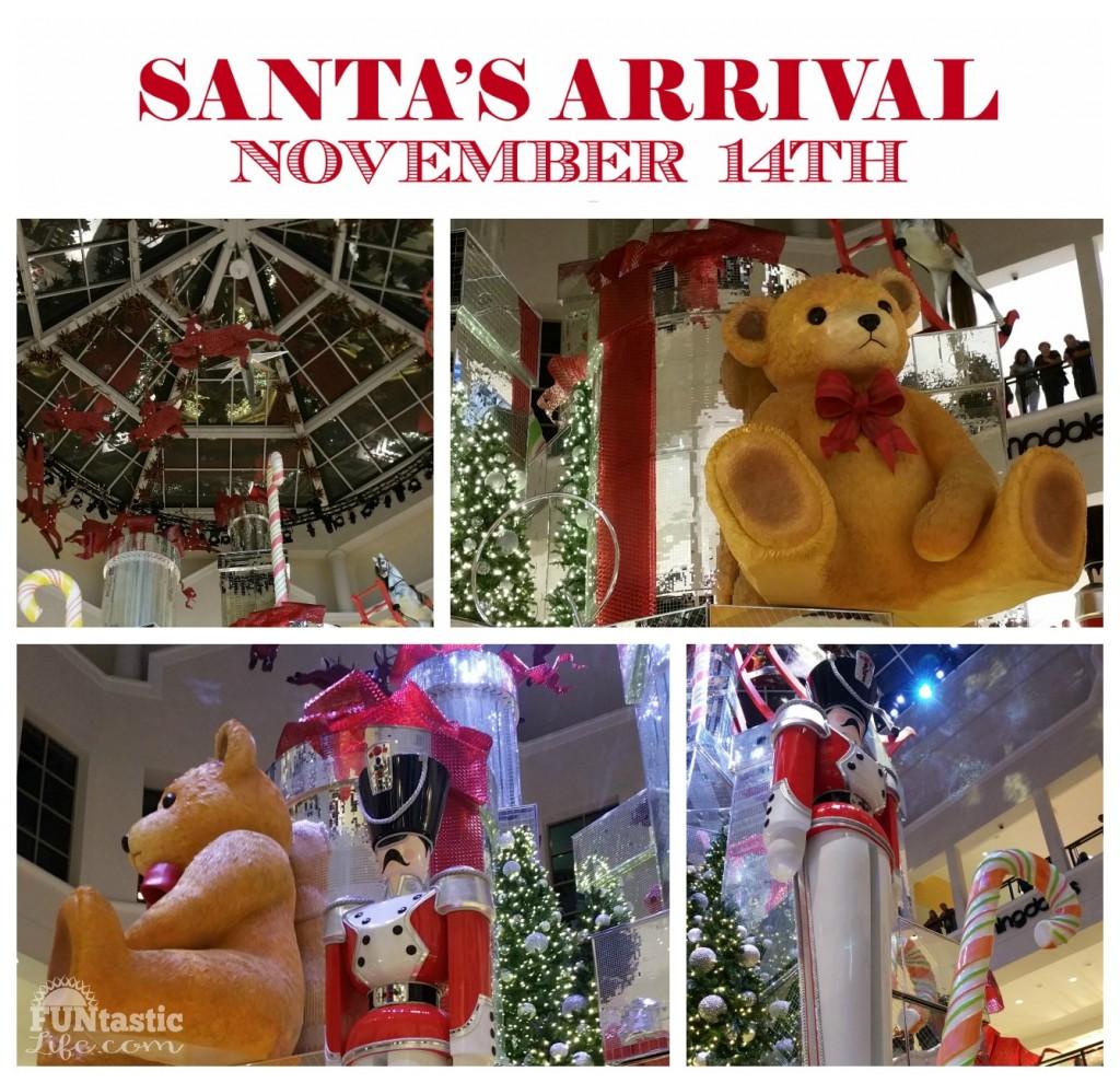 2015 Aventura Mall Santa's Arrival Collage - FuntasticLife