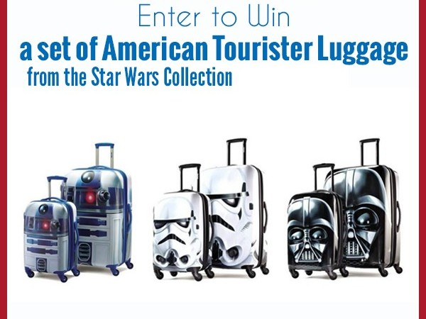 American Tourister Star Wars Collection Giveaway