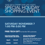 Best Buy 2015 Holiday Shopping Event on Saturday Nov 7th