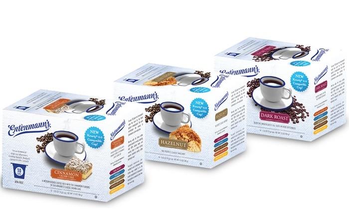 Entenmann's single serve coffee selections