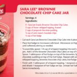 Entenmann's Dreamy Chocolate Bars & Sara Lee Snacks Brownie Chocolate Chip Cake Jar Recipes