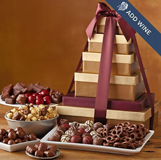 Deluxe Tower of Chocolates