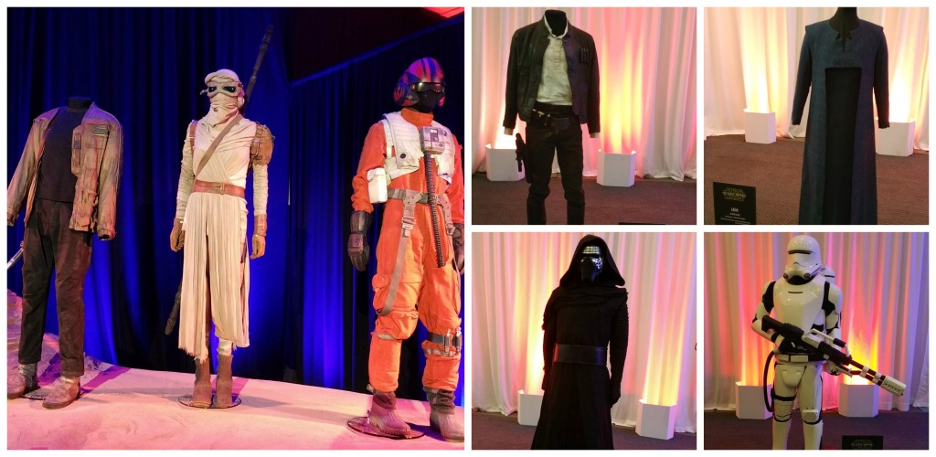 Star Wars Costume Collage