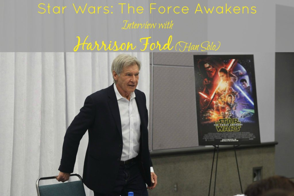 Star Wars The Force Awakens Interview with Harrison Ford