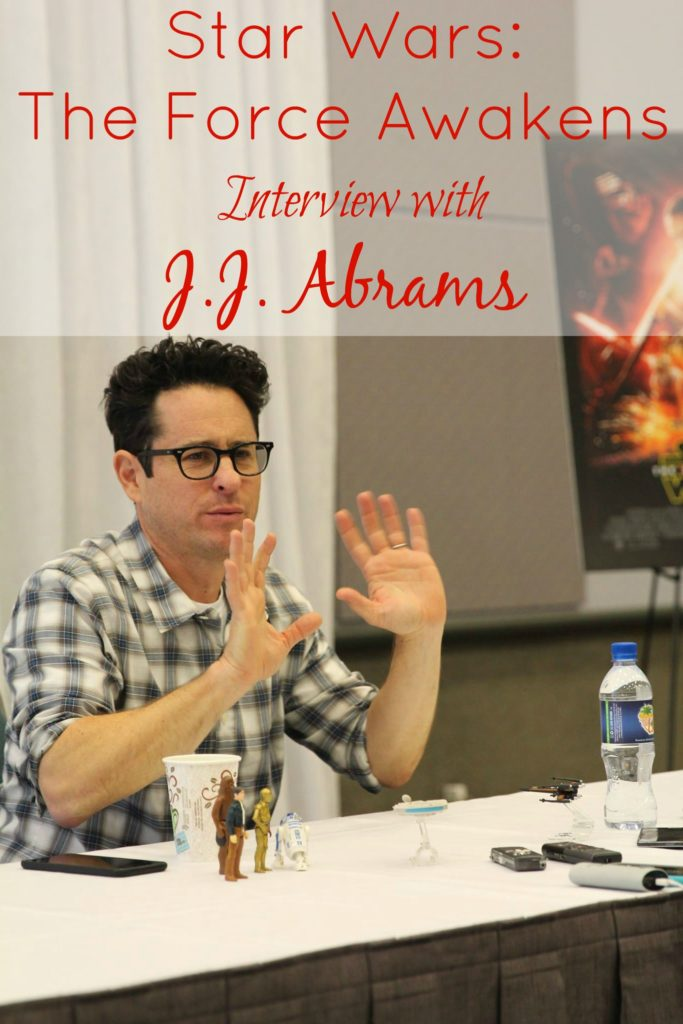 Star Wars The Force Awakens Interview with J.J. Abrams