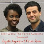 Star Wars: The Force Awakens Interview with Lupita Nyong'o and Oscar Isaac