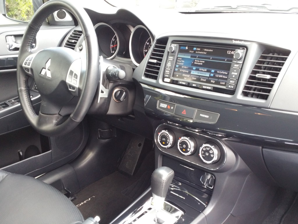 2015 Lancer GT Interior