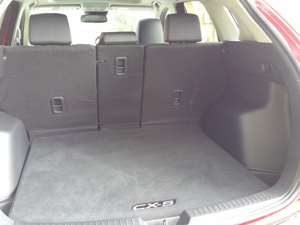 2016 Mazda CX-5 Grand Touring FWD Trunk
