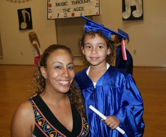 Baby Girl's PreK Graduation